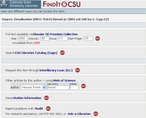 Screen shot of Academic Search Premier