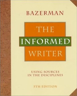 """Book cover image for the """"The Informed Writer."""""""